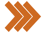 Chevron arrow right - orange