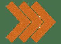 Chevron arrow right - orange