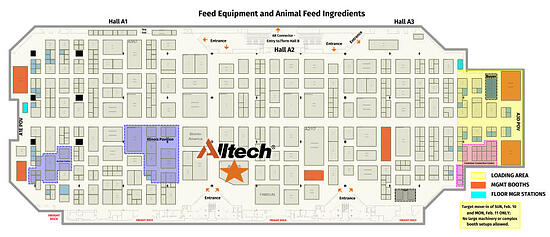 IPPE 2019 booth location