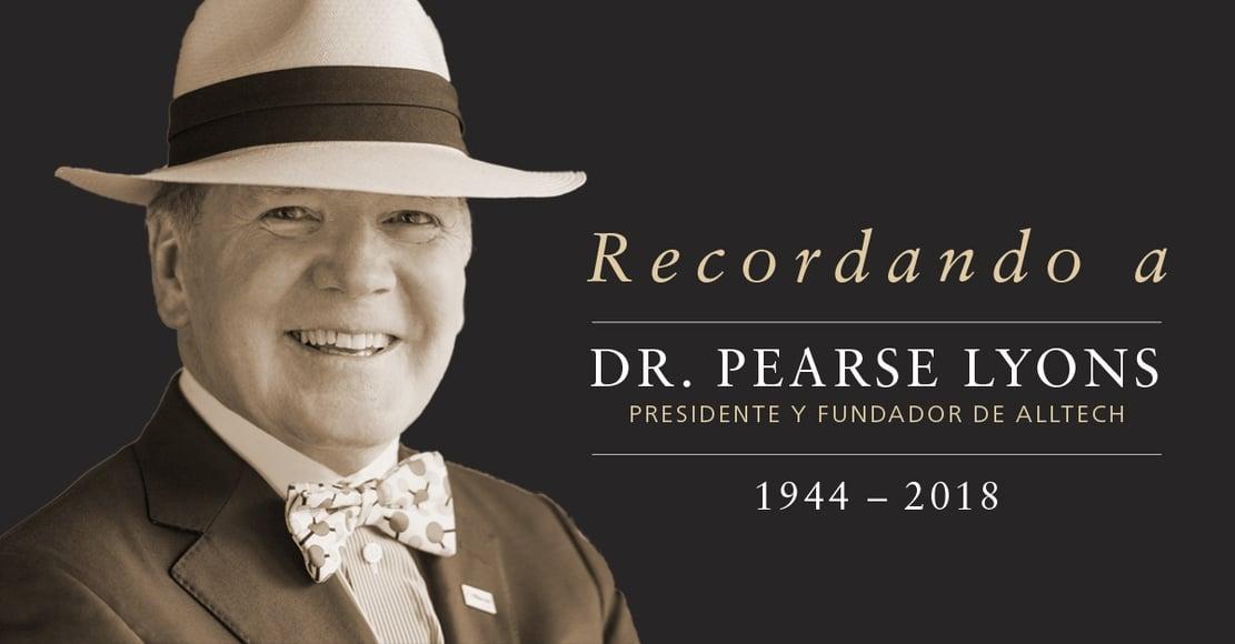 Recordando a Dr. Pearse Lyons